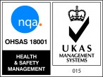 OHAS 18001 Registered | UKAS Management Systems 015