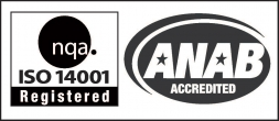 NQA ISO 14001 Registered | ANAB Accredited